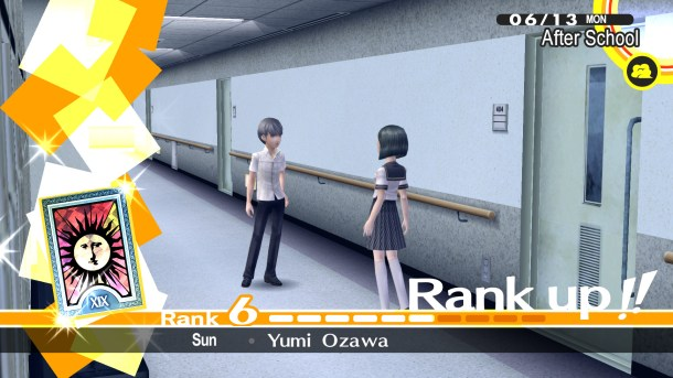 Persona 4 Golden | Rank Up