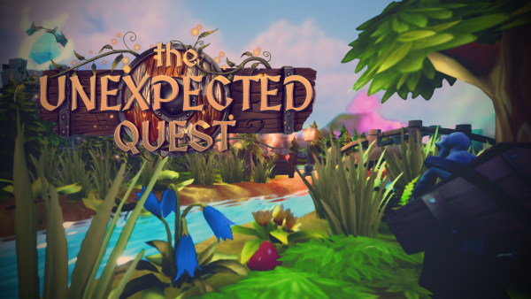 The Unexpected Quest | Logo Art
