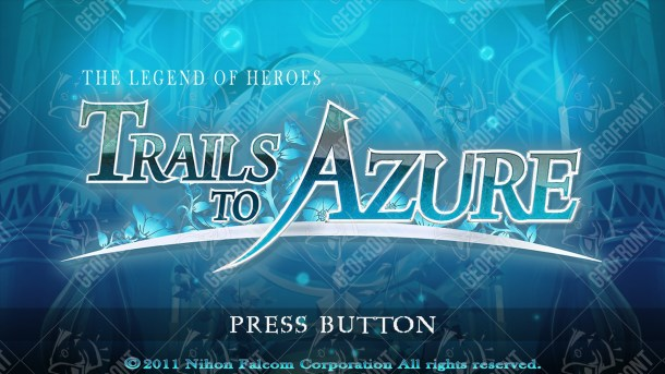 The Legend of Heroes: Trails to Azure   The Geofront English Logo