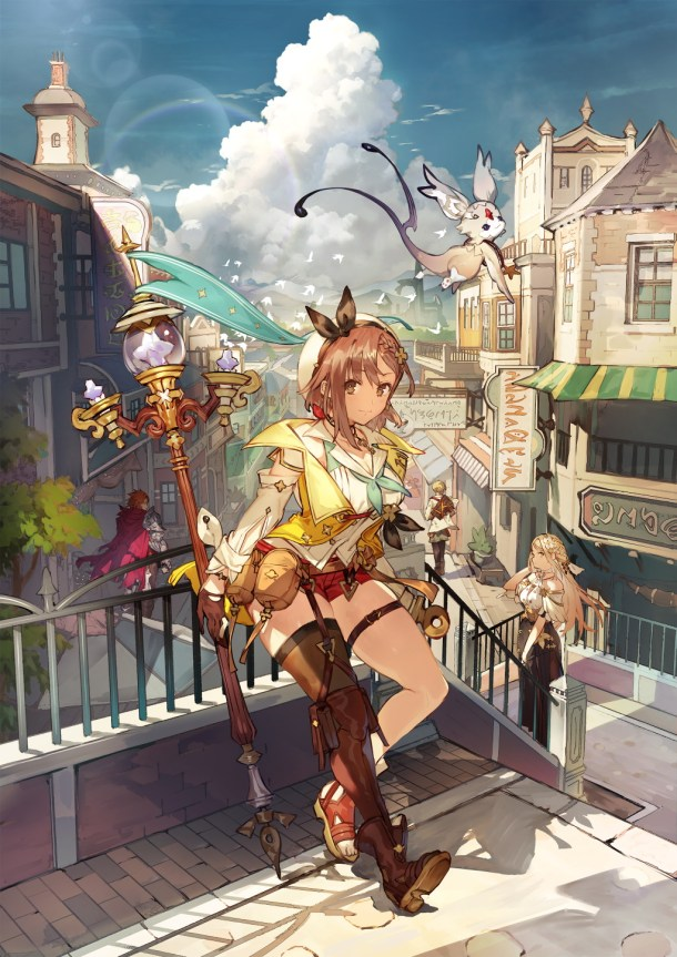 Atelier Ryza 2 | Main Visual
