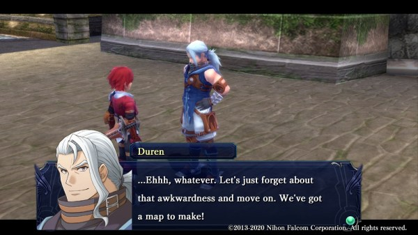Ys: Memories of Celceta | Adol & Duren getting ready to start their adventure