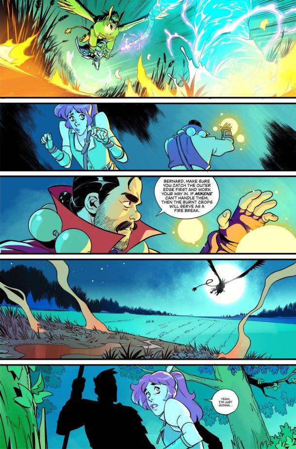 Skybound | Comic Page