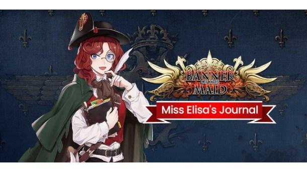oprainfall | Banner of the Maid: Miss Elisa's Journal DLC