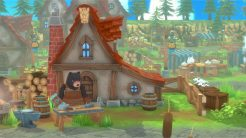 Developed by Twin Hearts, Kitaria Fables, is an action adventure with RPG and farming elements mixed in. It is coming to PC (Steam), Nintendo Switch, Xbox, and PlayStation sometime next year. Plunder dungeons in search of resources and relics, and tend to your farm. Use your sword, bow, and spellbook to stand against a rising tide of darkness that now threatens the world of Canoidera. Kitaria Fables is an action adventure mixed with a farming sim. Your farm allows you to produce materials for crafting weapons, armor, and potions as well as creating powerful new spells. Some materials are of course obtained from laying monsters, and you'll need ores to craft things like weapons and armor. The land of Canoidera was a peaceful world where nature was in harmony, but now wildlife around Paw Village has become increasingly hostile. The Empire has called upon none other than you to investigate. So begins a new adventure in a huge world. The class free combat system means you can customize you're character for your preferred style of combat through the weapons, armor, and accessories you craft. Take your enemies down from a distance with arrows or with powers like fire and ice, or end them more personally with your trusty sword. As your adventure unfolds, you can fulfill requests from your animal neighbors, and build relationships with them. This will yield more rewards as they trust you more. Lastly, here are a few screenshots of Kitaria Fables.