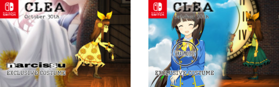 Clea | Switch exclusive costumes