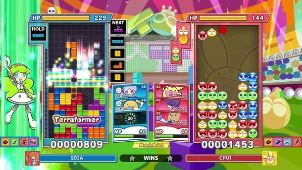 Puyo Puyo Tetris 2 Screen