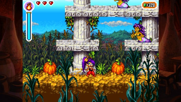 Shantae Risky's Revenge - Director's Cut | Pumpkin Fields