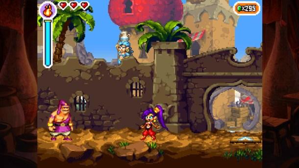 Shantae Risky's Revenge - Director's Cut | Scuttle Town Gate
