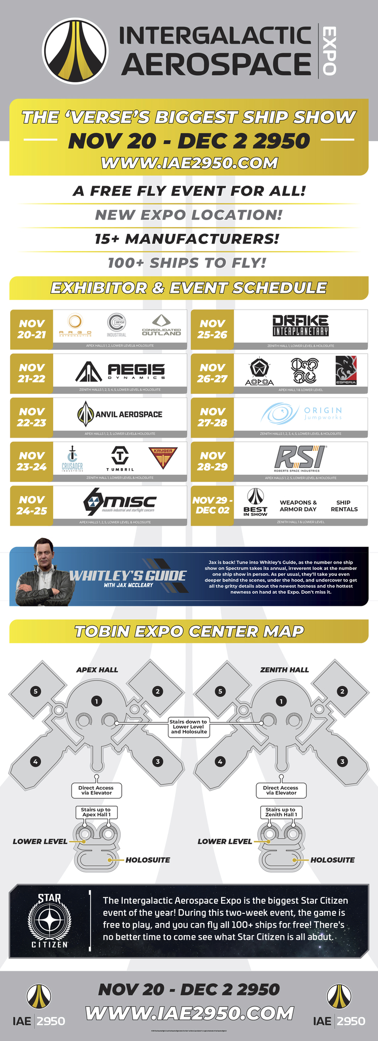 Star Citizen | IAE 2950 Event Infographic