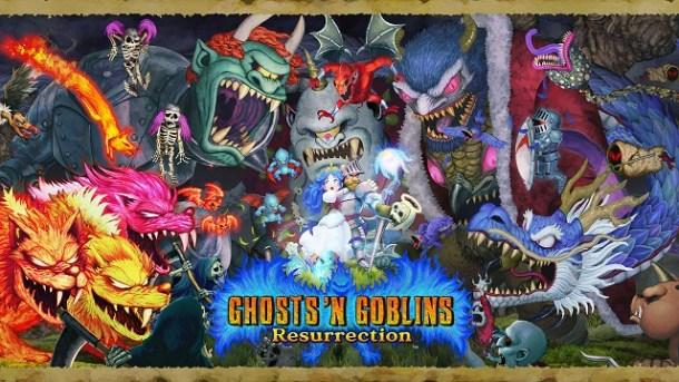 Ghost 'n Goblins Resurrection Key