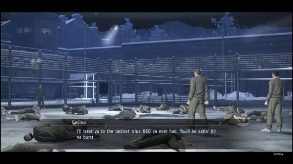 Yakuza 5 | Saejima in Abashiri Prison