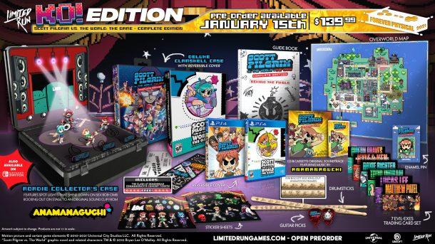 Scott Pilgrim vs. The World: The Game Limited Editions