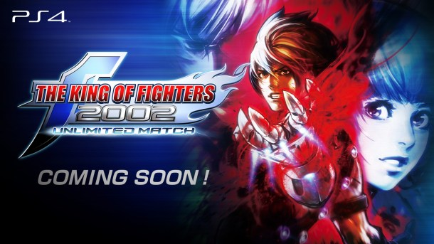 The King of Fighters 2002 Unlimited Match | PS4 Version Coming Soon