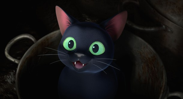 Thomas the cat from Earwig and the Witch