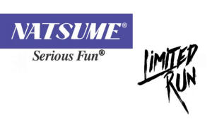 Natsume | Natsume and Limited Run Games Logos