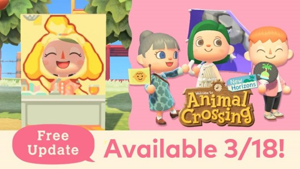 Animal Crossings: New Horizons | March 2021 Update Featured