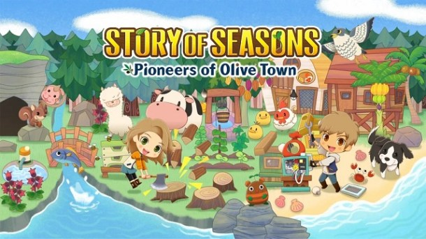 STORY OF SEASONS: Pioneers of Olive Town | Official Logo Art