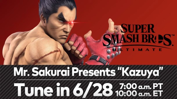 Super Smash Bros. Ultimate | Kazuya Presentation