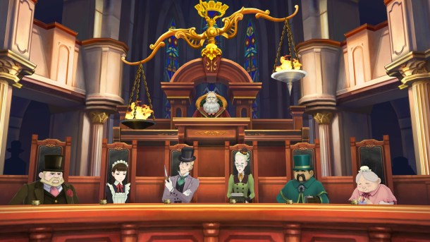 The Great Ace Attorney Chronicles | Official Screenshot