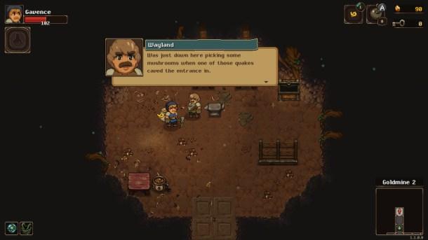 UnderMine | Rescuing the blacksmith