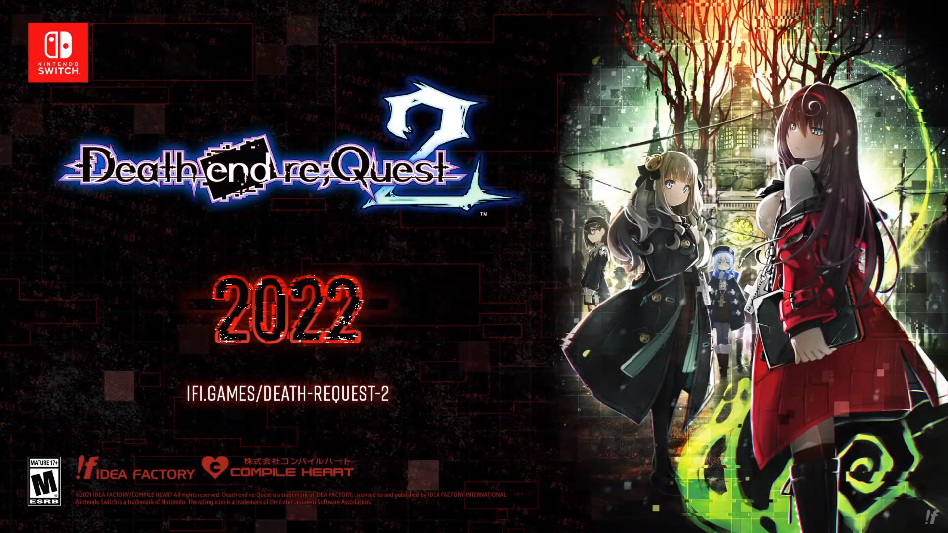 Death end re;Quest 2 Heads West for Nintendo Switch in ...