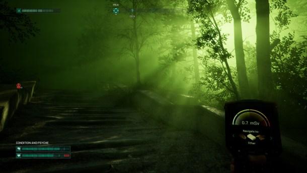 Chernobylite | Eerie green glow