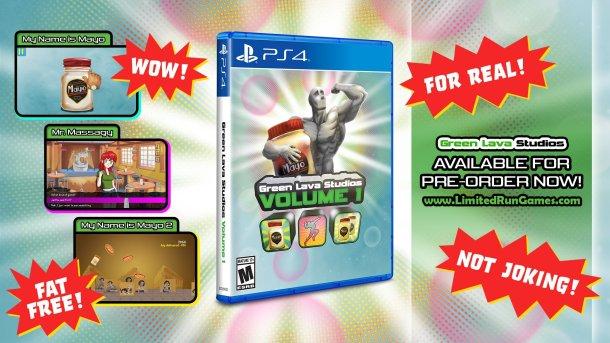 Green Lava Studios | Volume 1 Limited Run Games