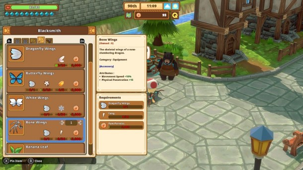Kitaria Fables | Craftable wing accessory equipment