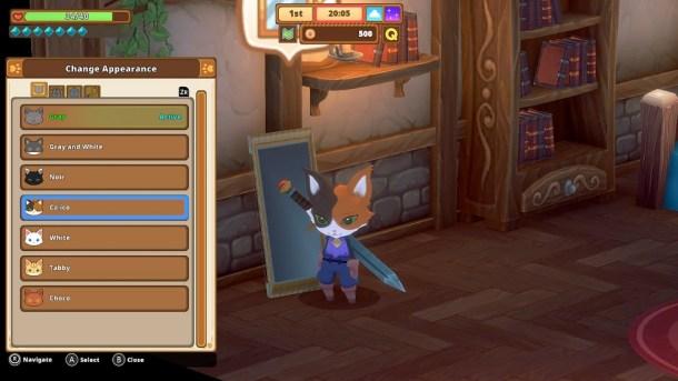 Kitaria Fables | Character customization