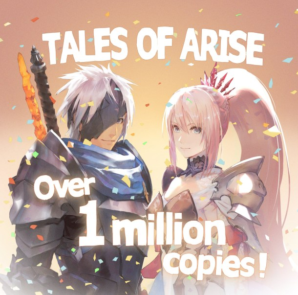 Tales of Arise | 1 Million Units Sold