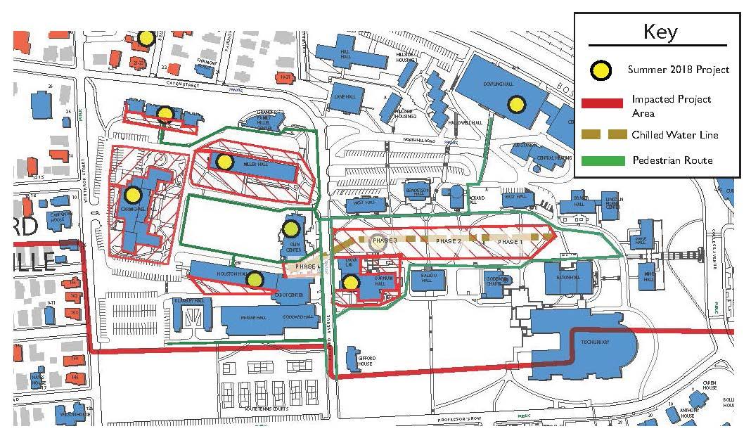 Campus Medford Tufts Somerville University Map