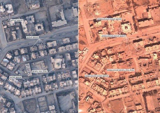 Обнародованы фотодоказательства разрушений, которые нанесла коалиция в Ракке 2