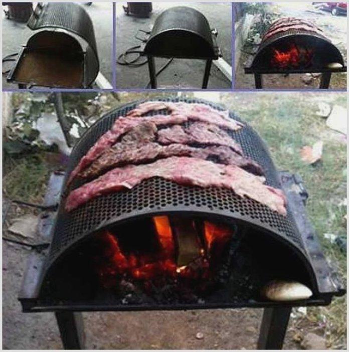 Необычные идеи мангалов для хорошей прожарки мяска ? 11