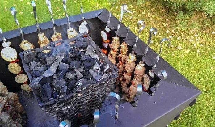 Необычные идеи мангалов для хорошей прожарки мяска ? 26