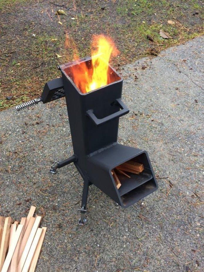 Необычные идеи мангалов для хорошей прожарки мяска ? 15