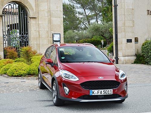 Незнакомые облики нового Ford Fiesta 6