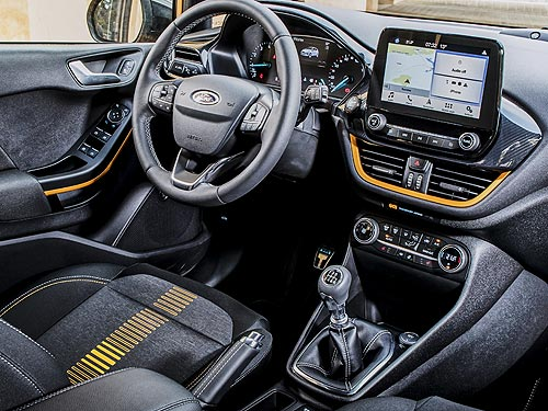 Незнакомые облики нового Ford Fiesta 4