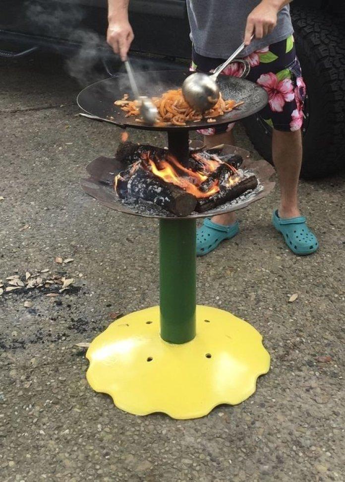 Необычные идеи мангалов для хорошей прожарки мяска ? 8