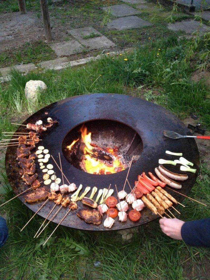 Необычные идеи мангалов для хорошей прожарки мяска ? 10