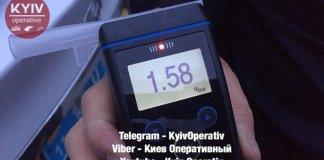 Побил десяток машин: появились фото и видео с пьяным водителем, устроившим дикие гонки в Киеве