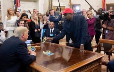 Встретившийся с Трампом Канье Уэст стал героем фотожаб
