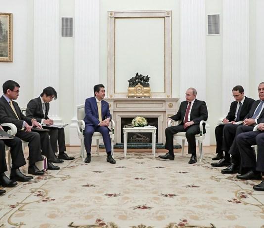 Путин сообщил об итогах встречи с Абэ по мирному договору с Японией - РБК