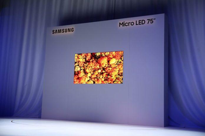 Samsung показала 75-дюймовый 4K телевизор на базе технологии MicroLED - ITC.ua 1