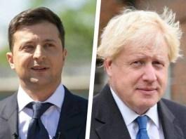 Джонсон пообещал Зеленскому не допустить возвращения России в G7