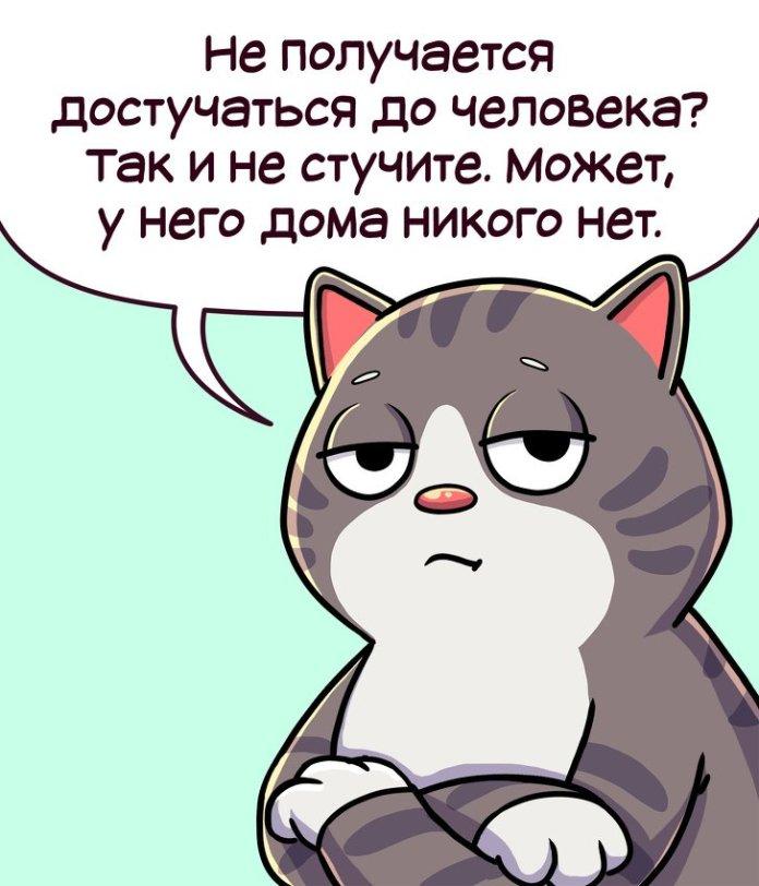 Правила жизни кота Семена (комикс) 9