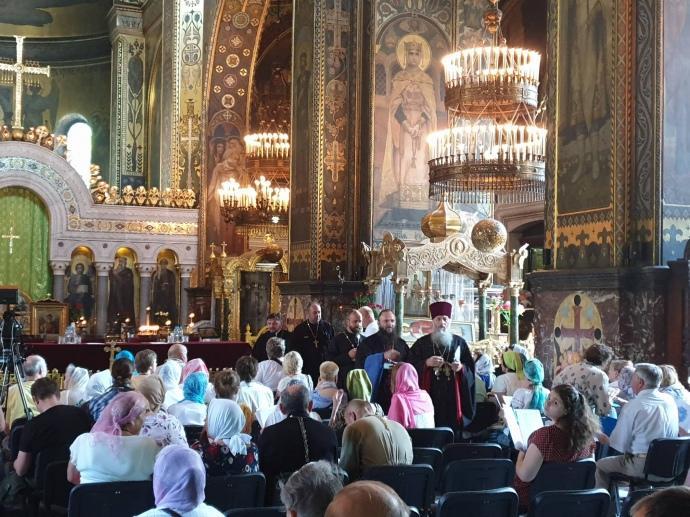 Почетный патриарх Филарет проводит «собор» для восстановления УПЦ Киевского патриархата / фото Романа Романюка, АП