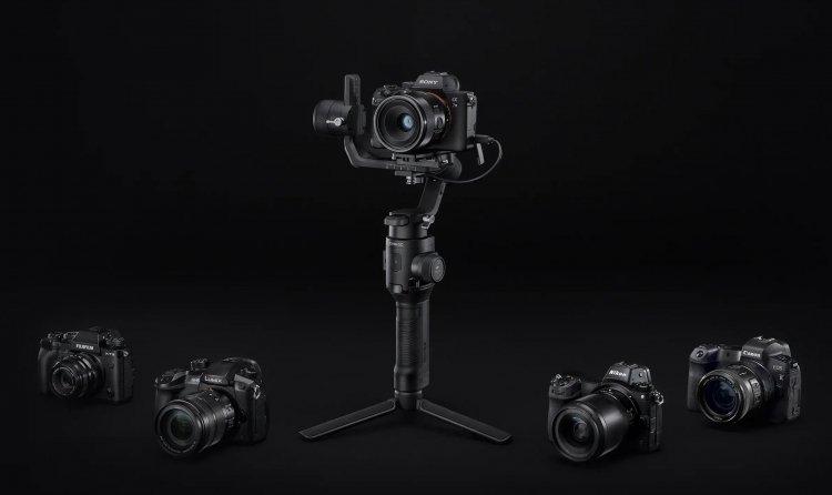 DJI представила новый 3-осевой стабилизатор Ronin-SC для беззеркалок