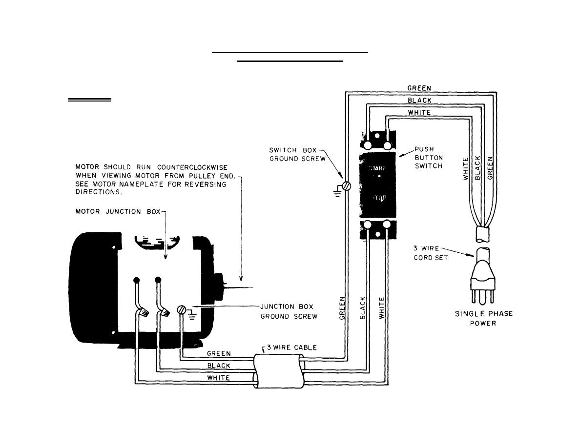 install 230v single phase reversing wiring diagram