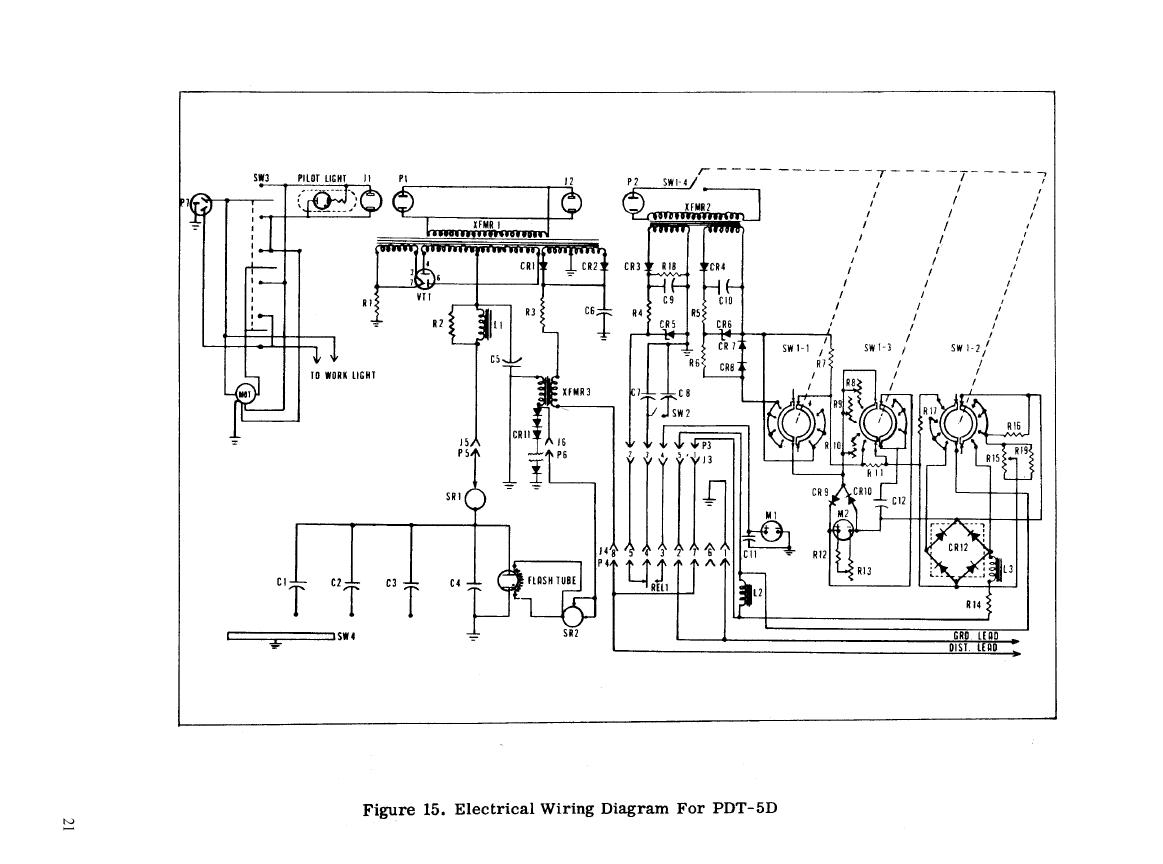 Figure 15 Electrical Wiring Diagram For Pdt 5d