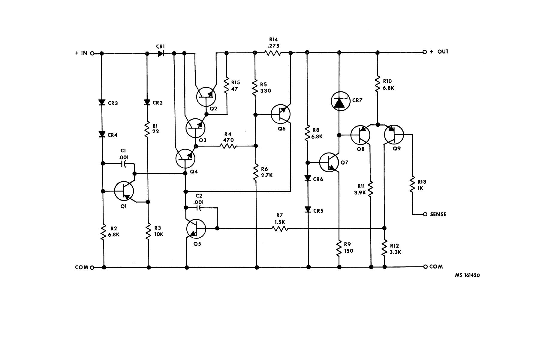 Figure 4 67 Positive Voltage Regulator 2